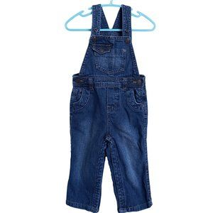 JOE FRESH Denim Overalls 12 - 18 months